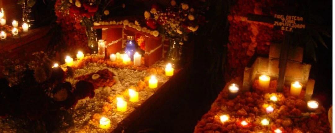 Grave for Dio de los Muertos