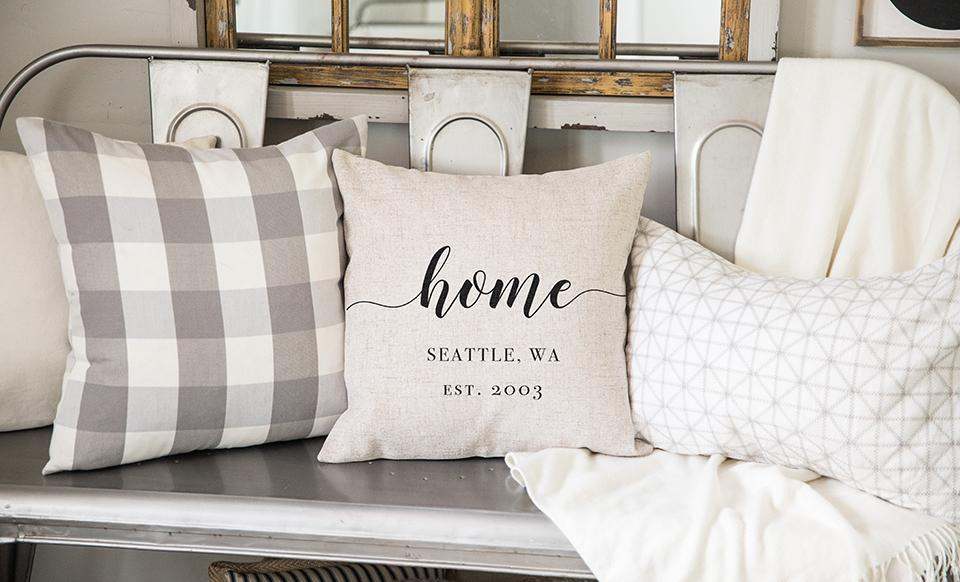 farmhouse style pillow covers online