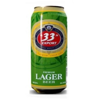 "33"" Export Lager Beer Can 33cl"