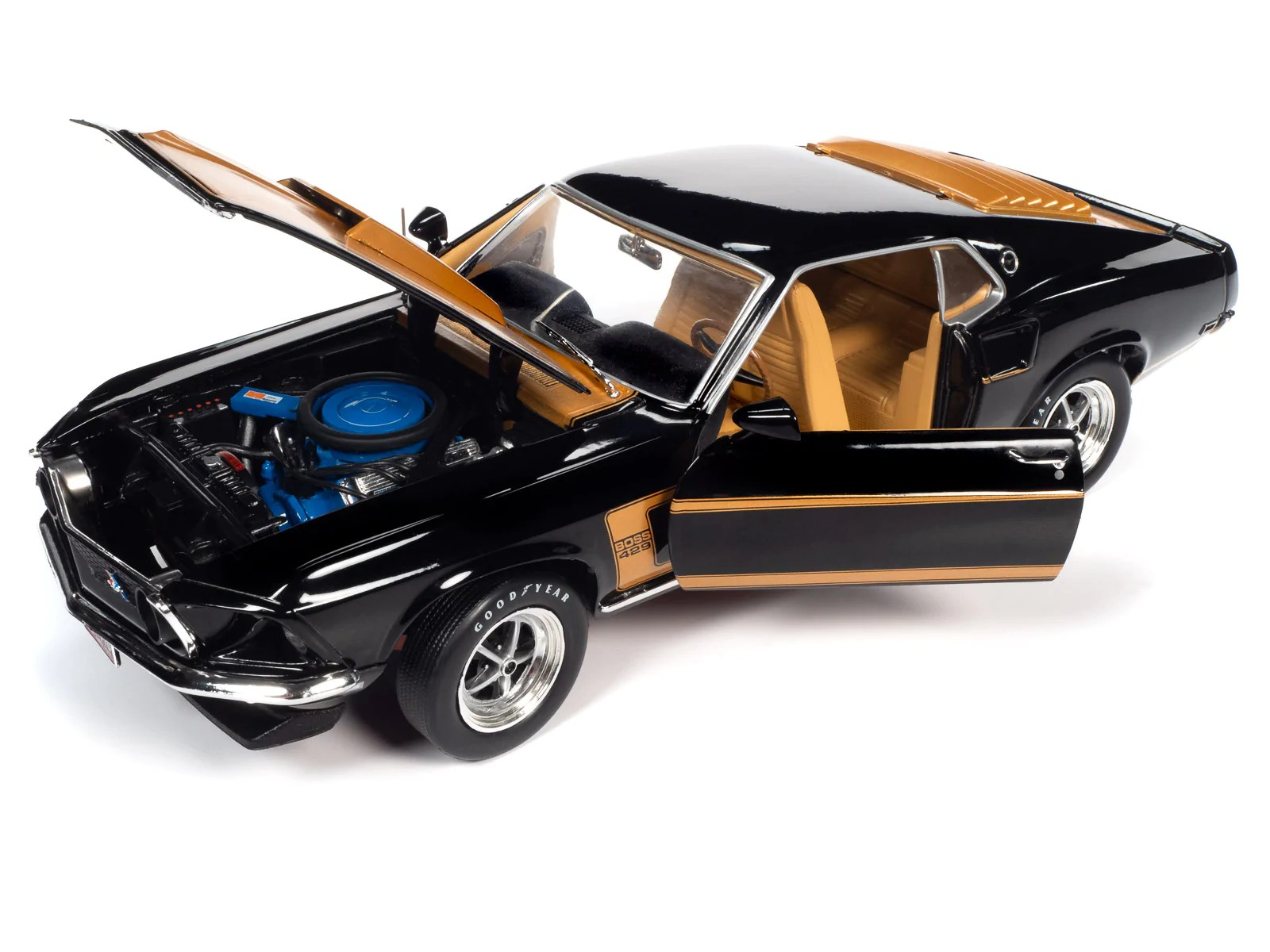 It's easily the best mustang yet, and that includes all the shelbys and mach 1s. American Muscle 1969 Ford Mustang Fastback 1 18 Scale Diecast Auto World Store