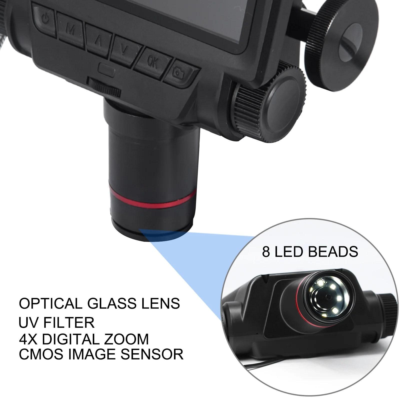 Vevor andonstar digital microscope adsm301 1080p hd magnifier 3mp for circuit board repair with 260x magnification. Andonstar 5 Inch Screen Hdmi Digital Microscope Usb ...
