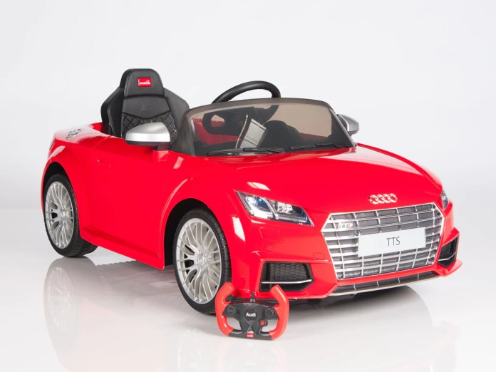 licensed audi tts roadster electric ride on sports car with remote