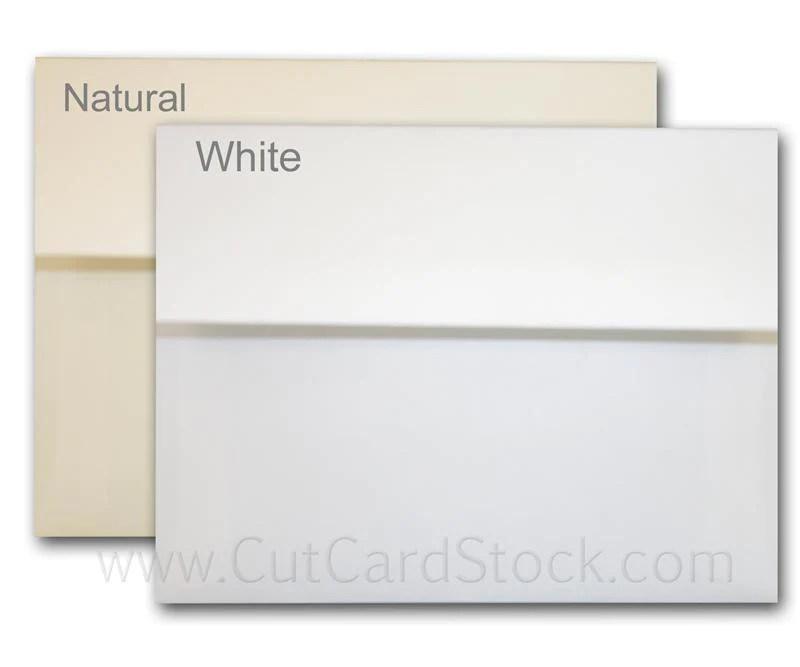 Leader Opaque 70 lb A2 Discount Envelopes – CutCardStock