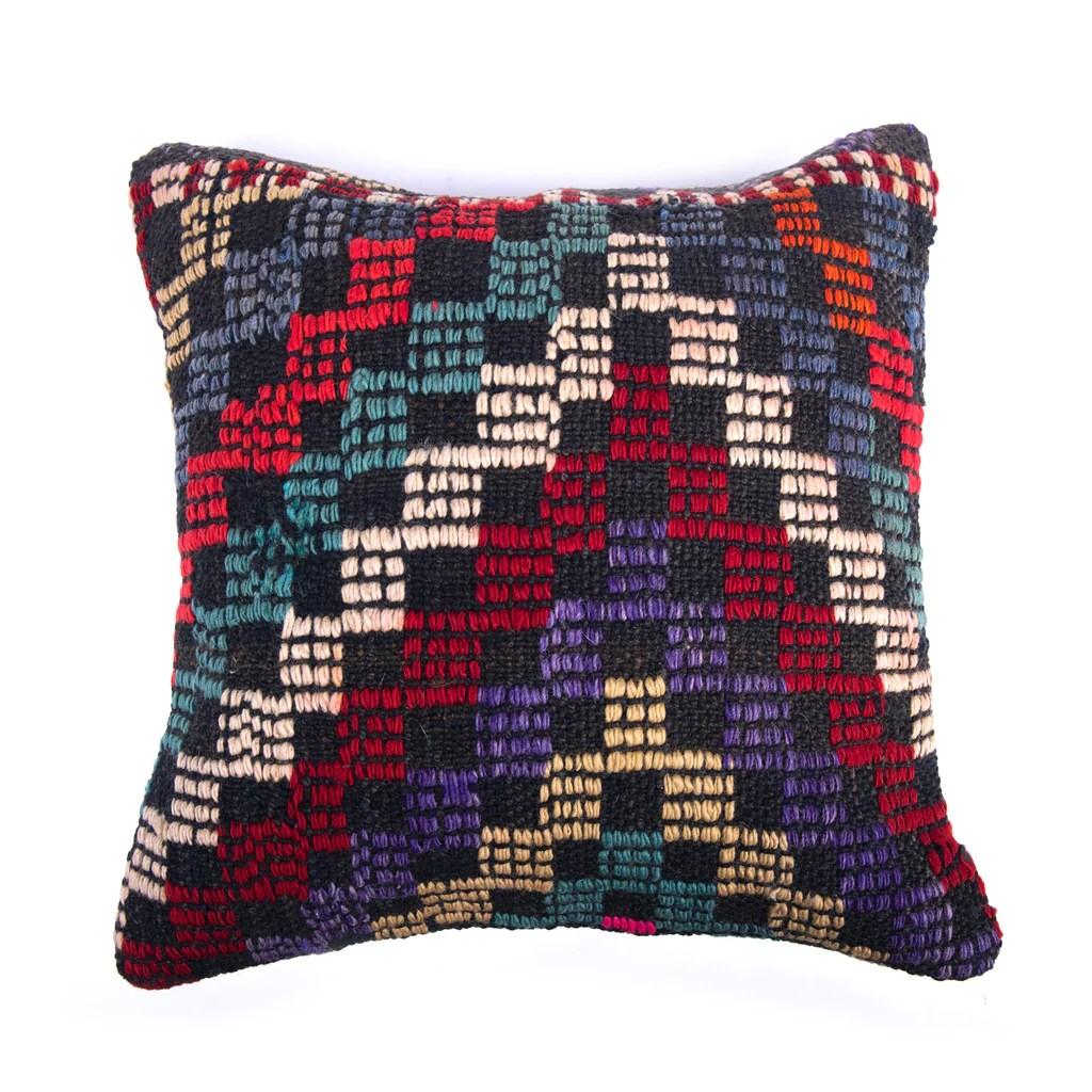 16 x16 kilim pillow covers turkish