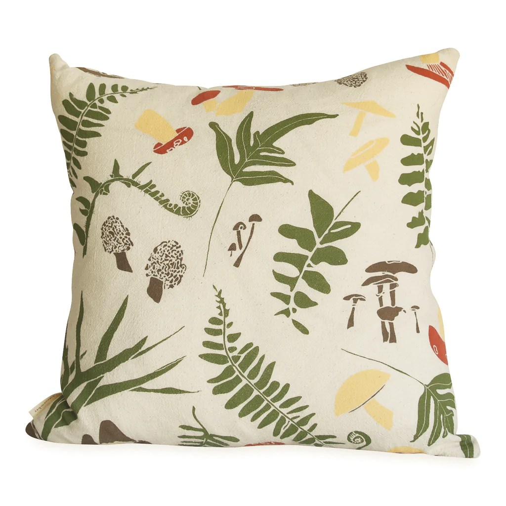 forest finds pillow cover