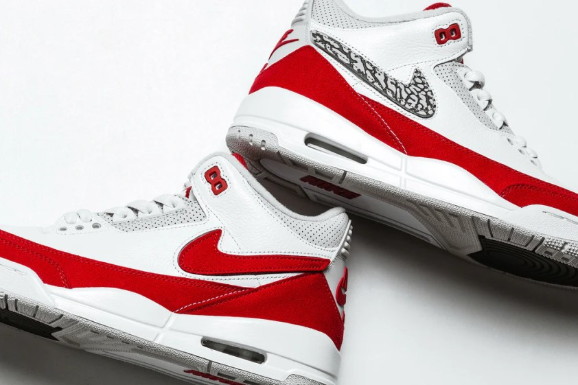 d80f598bafb5 Jordan Brand presents a combination of two classic silhouettes both  designed by Nike s own Tinker Hatfield in the form of the Air Jordan 3  Retro Tinker ...