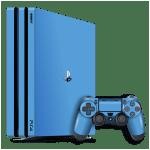 Playstation 4 Pro Ps4 Pro Glossy Sky Blue Skin Easyskinz