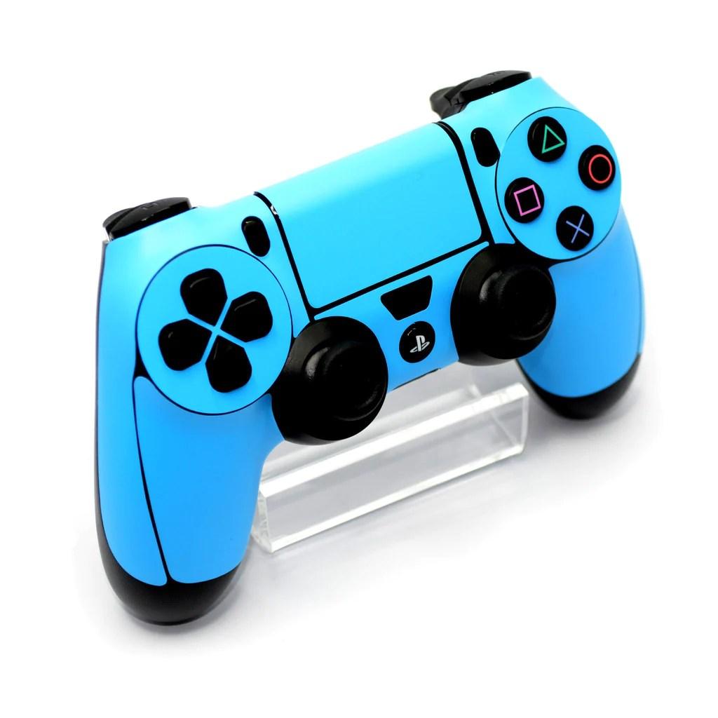 Playstation 4 PS4 CONTROLLER Blue MATT Skin Cover