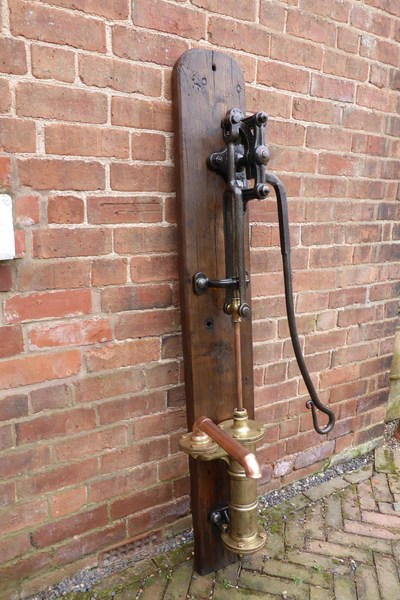 Wooden Antique Water Pumps