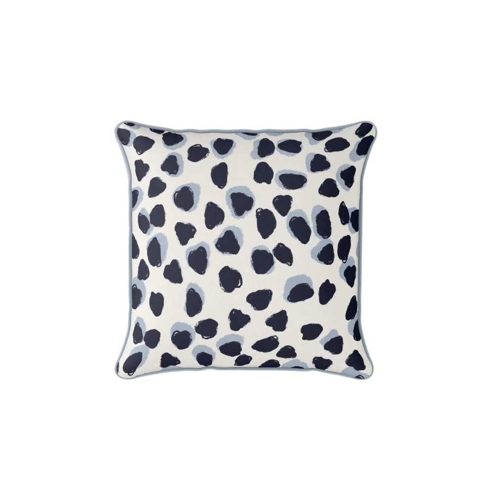 sewing down south modern polka dots pillow