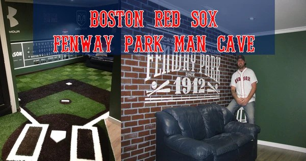 Sox Cave Boston Man Ideas Red