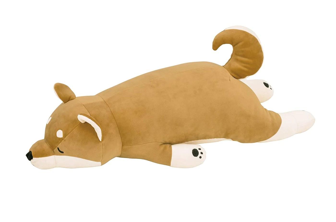 shiba body pillow