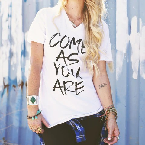 """Come As You Are"" Tee"