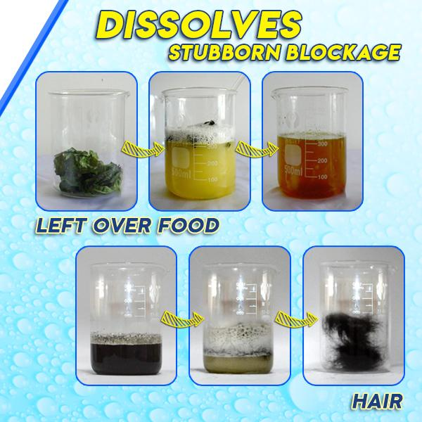 powerful sink drain cleaners