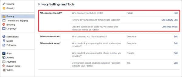 Facebook Security Tip 2