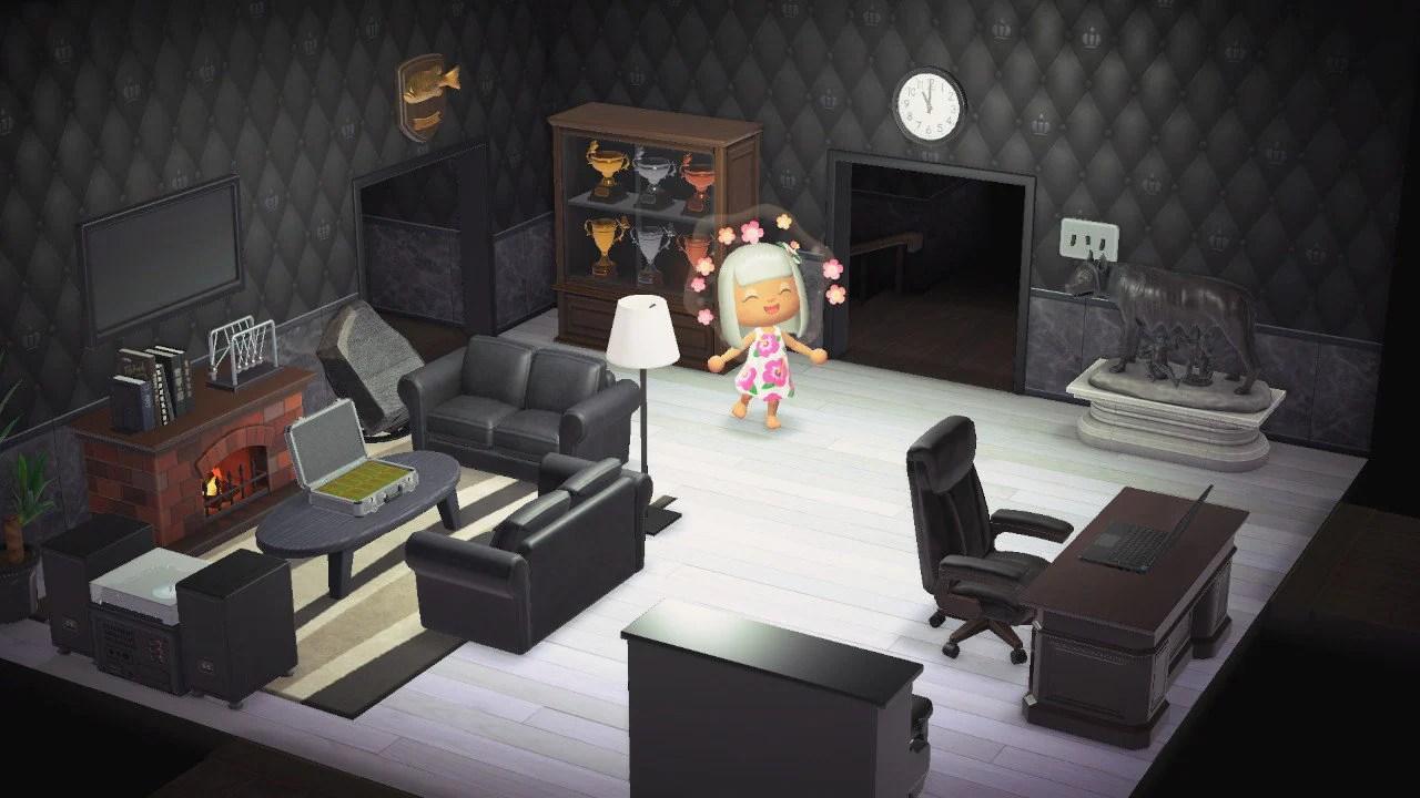 Prestigious Black Living Room Furniture Set Nookdirect