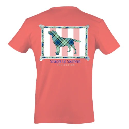 Its A Girl Thing Southern Collection Prep Dog Bright T