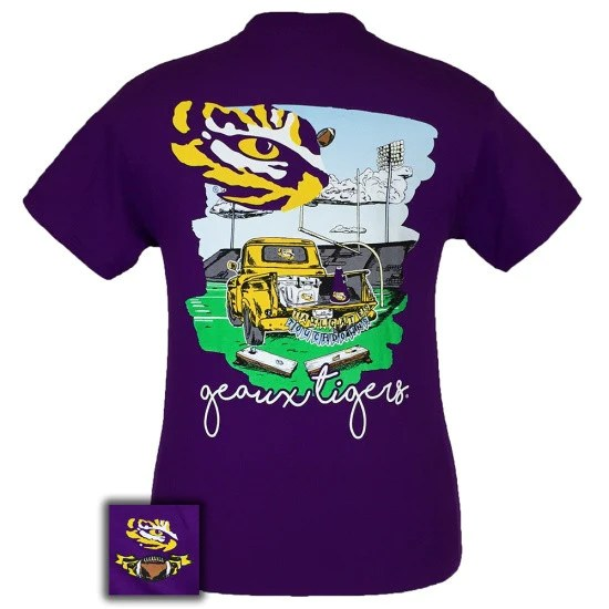 Louisiana State LSU Tigers Tailgates Amp Touchdowns Party T