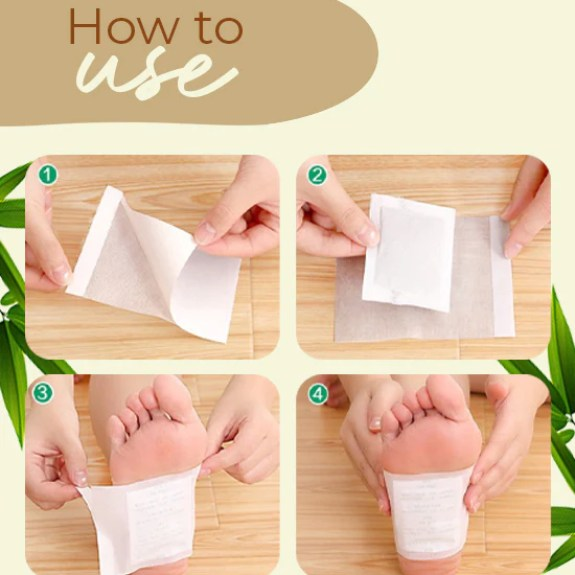 Bamboo Vinegar Foot Patch