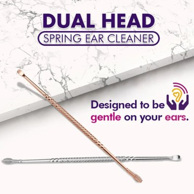 Dual Head Spring Ear Cleaner