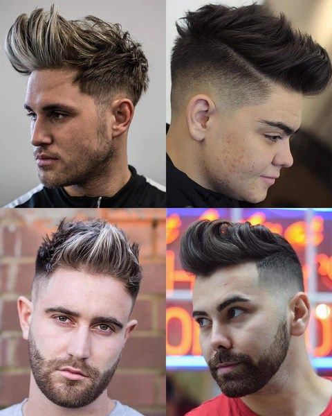 Mens Hair Cut Defines A Big Part Of Image Bring A Picture Of The