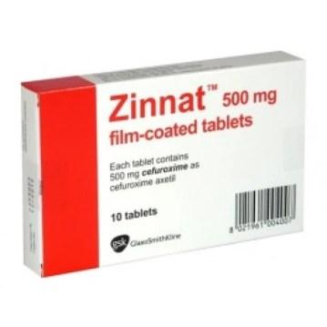 Zinnat Cefuroxime Axetil 500mg Tab – Precious Pharmacy