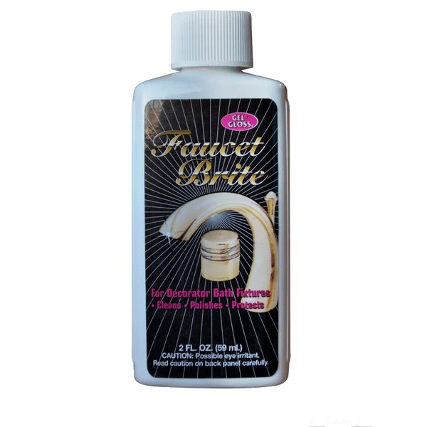 tr industries gel gloss faucet brite cleaner 2 oz hard to get items