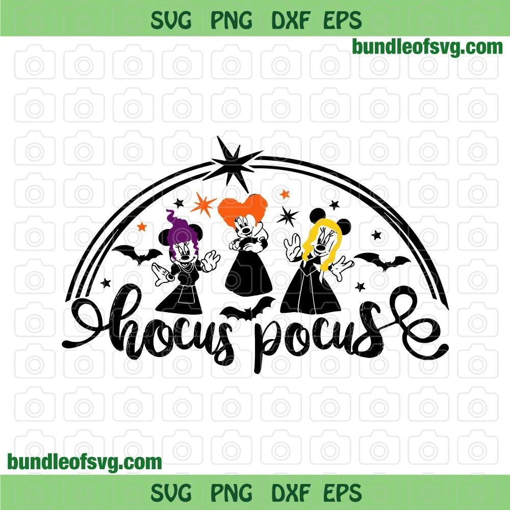 These halloween articles are all about the ways people celebrate halloween. Minnie Sanderson Sisters Svg Halloween Disney Hocus Pocus Svg