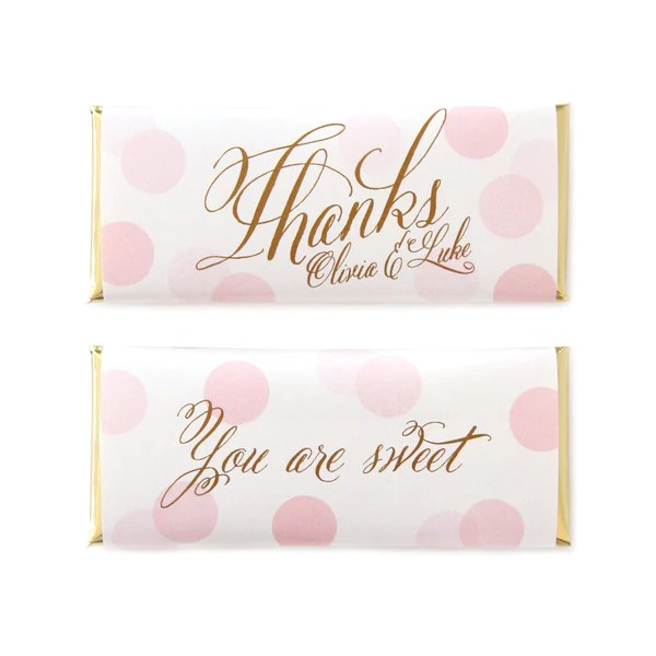 Sweet Paper Shop Confetti Greetings Personalized Candy