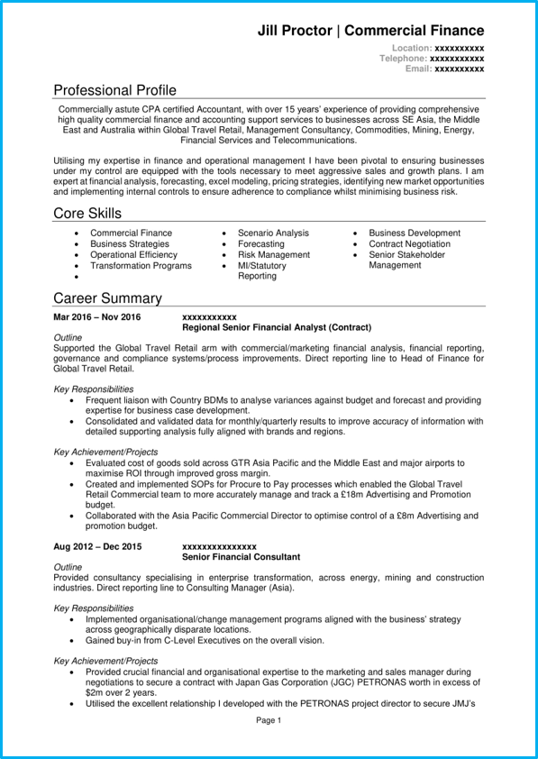 This is a really strong game developer resume. Professional Cv Template With 7 Example Cvs For Inspiration