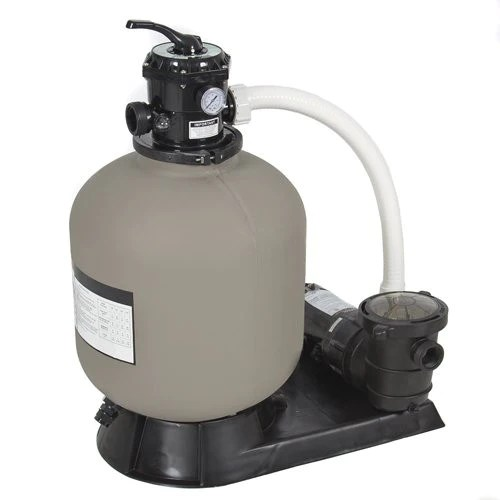 Intex 1200 gph above ground pool sand filter pump with automatic timer (open box) 4.5 out of 5 stars. 19 Sand Filter System 1 5 Hp Swimming Pool Pump With Hoses And Clamps Fast Swim Supplies Com