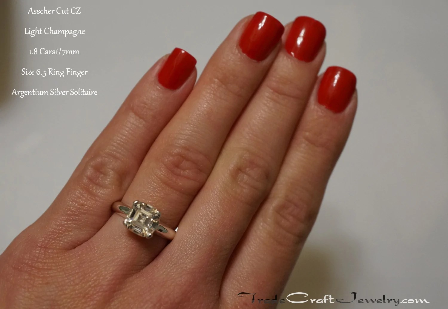 Stone Size Comparisons With Hand Shots Tradecraft Jewelry