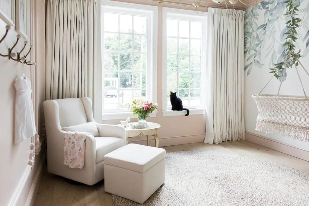style window treatments on large windows