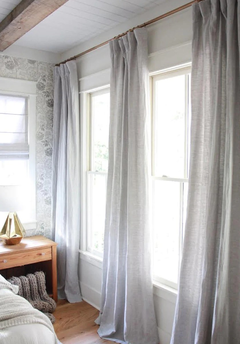 A modern farmhouse with vintage appeal | Barn & Willow on Bedroom Curtain Ideas  id=67687