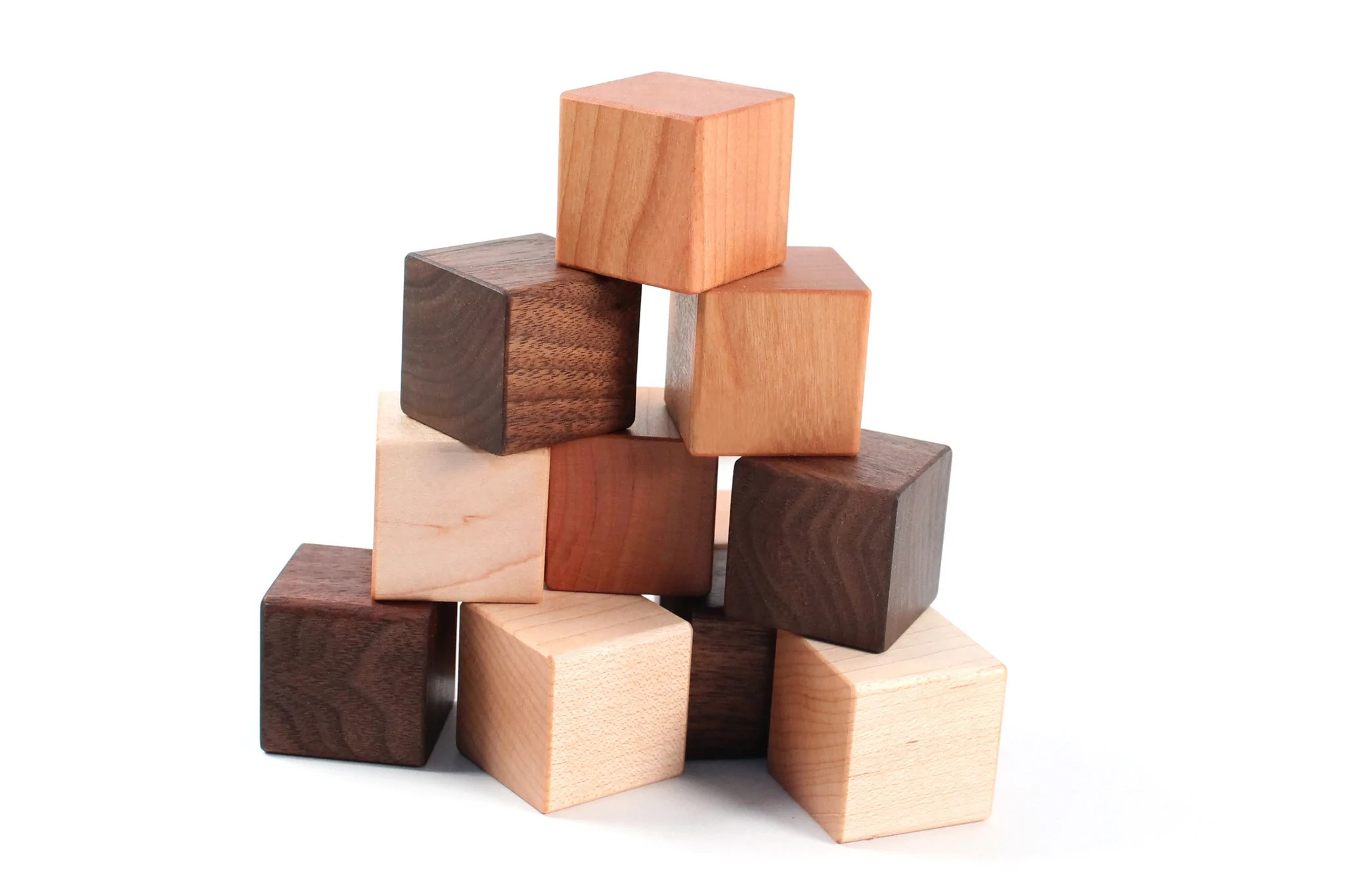 12 Piece Blocks Set Smiling Tree