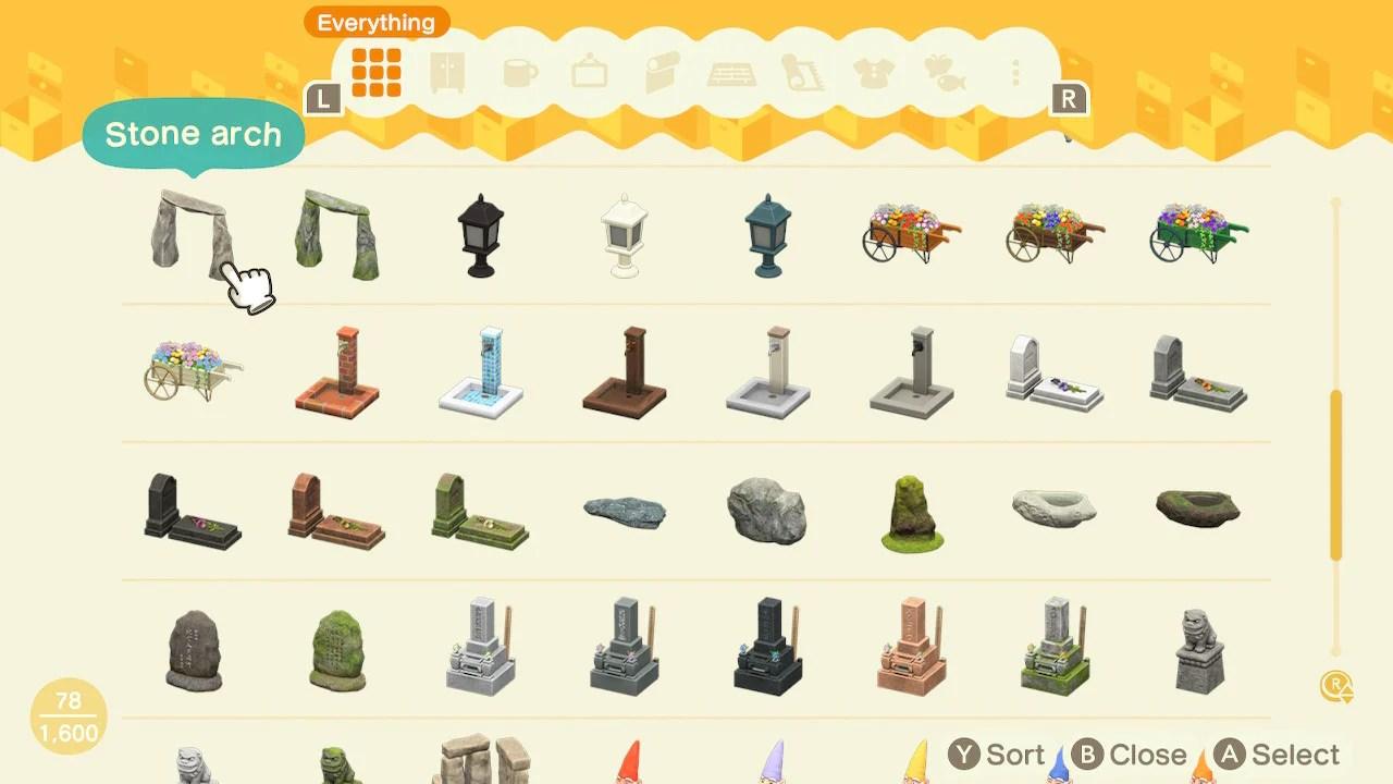 Natural Garden Iron Garden Furniture Diy Set All Gnomes Archer S Acnh Express
