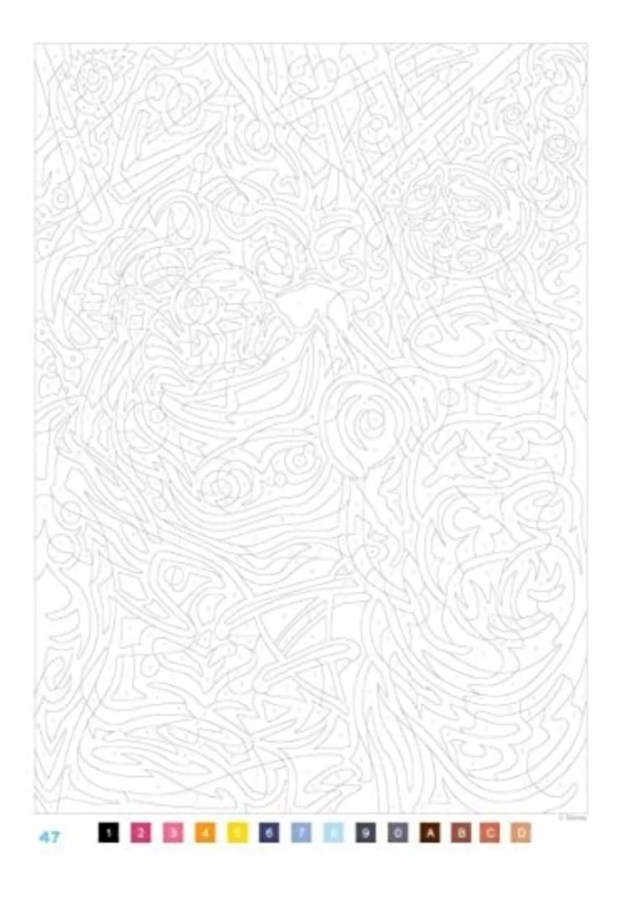 Mystery coloring pages The great classics Disney