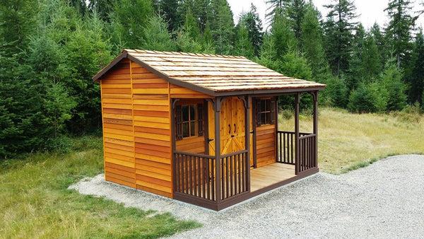 Ranchouse Sheds Prefab Guest Cottage Kits Plans