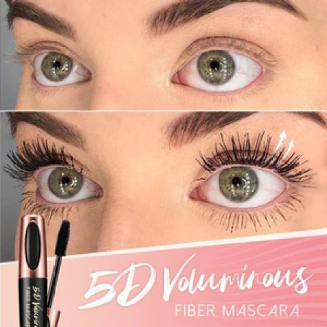 5D Silk Fiber Waterproof Lash Mascara