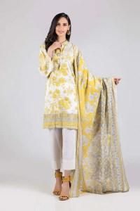 Bonanza Satrangi ASO213P10B  Yellow Summer Collection