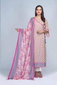 Bonanza Satrangi RSO213P16 D Pink Summer Collection