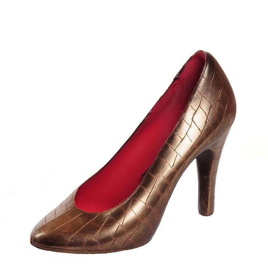 Louboutin And DKNY Inspired Chocolate Shoe Azra Chocolates