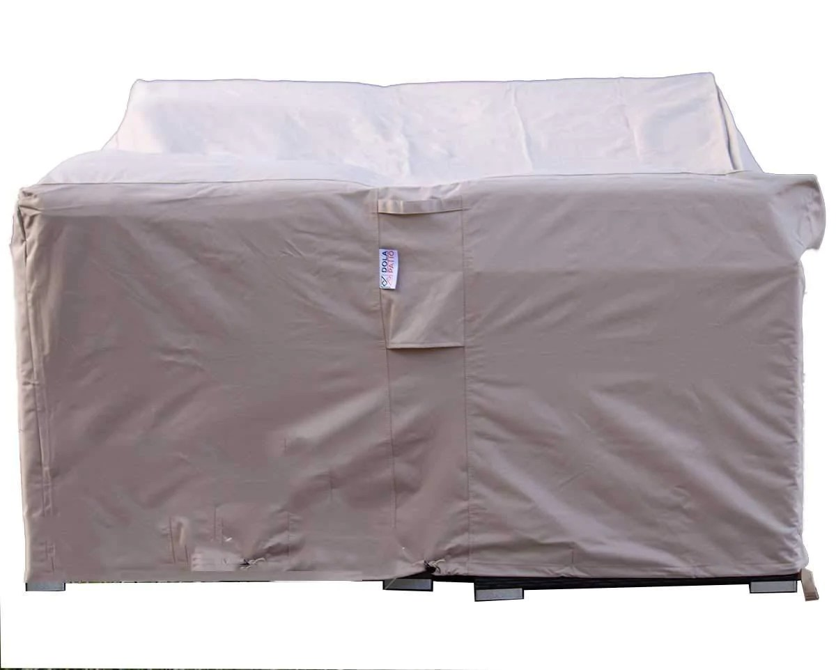 dola patio furniture covers large outdoor sofa sectional furniture cover waterproof beige super heavy polyester fabric breathable 85 x 67 x 35