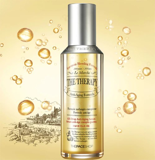 Image result for the face shop the therapy oil serum
