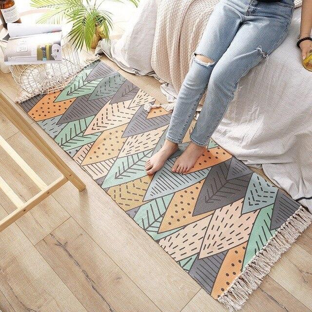 tapis pour salon cocooning layzon home
