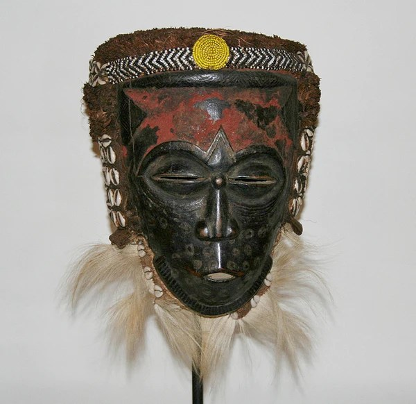 Kuba Lele Helmet Mask Rare Antique Congo DRC Cultures