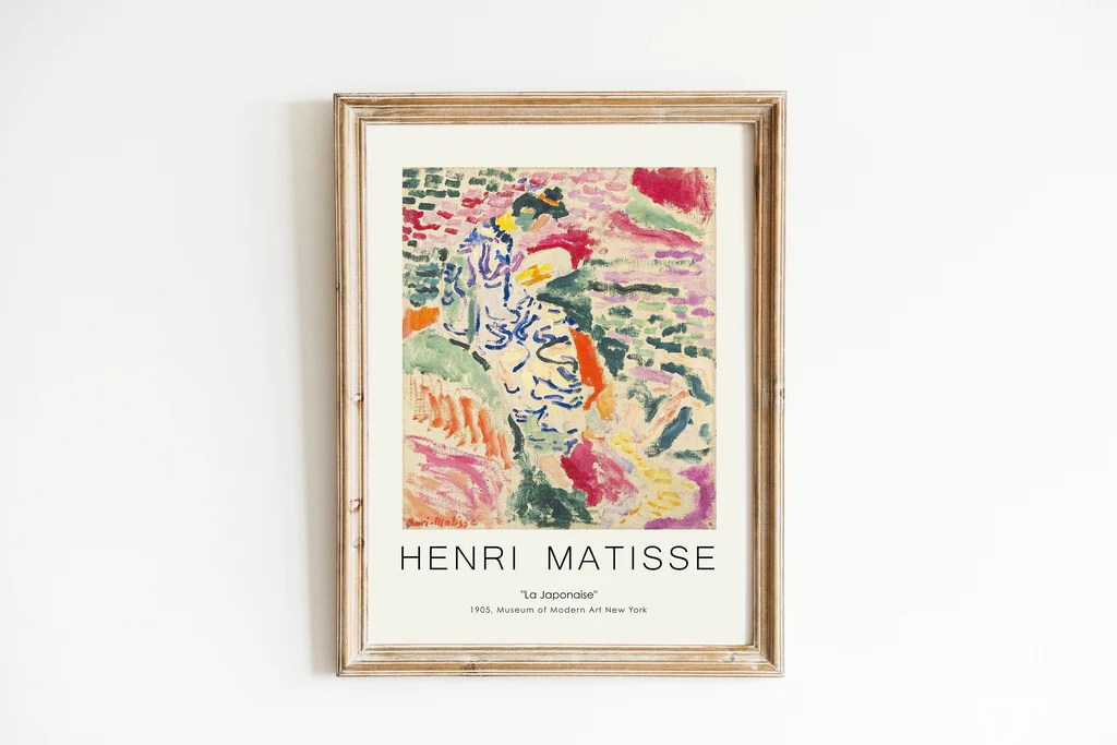 henri matisse art exhibition poster set of 6 matisse painting prints high quality