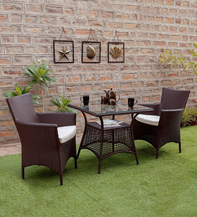 hindoro 2 seater patio set for outdoor indoor purpose