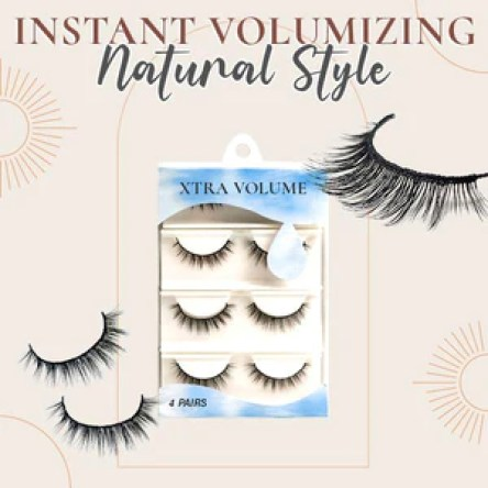Water-Activated Lashes