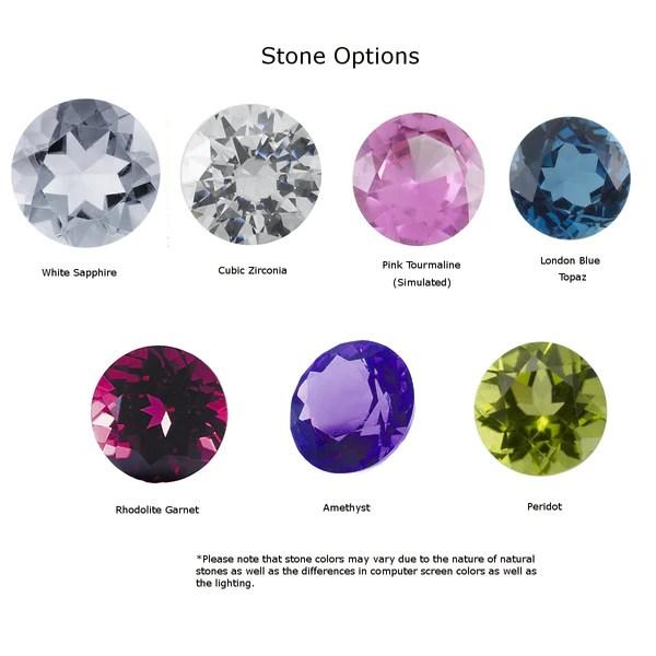 Gemstone Pattern Stacking Ring Emily Jane Designs